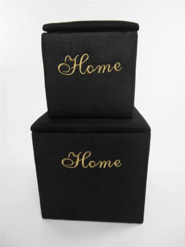 Strong Padded Square Laundry Basket Storage Box Chest Seat